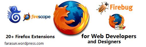 20 + افزونه فایرفاکس برای توسعه دهندگان و طراحان وب