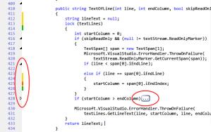 کد ادیتور جدید ویژوال استادیو 2010