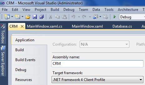 windows presentation foundation application client